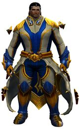 Refined Envoy armor (light) norn male front.jpg