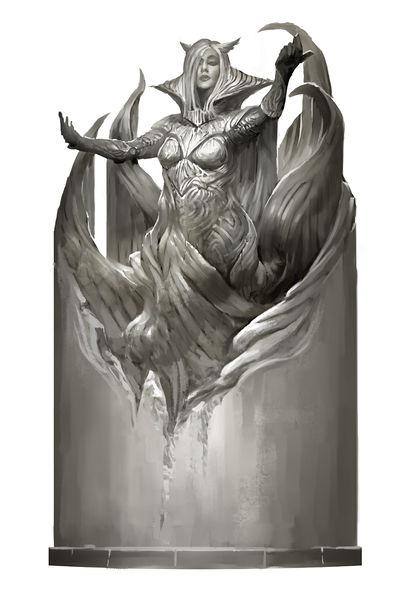 Les Six Dieux 402px-Kormir_god_statue_concept_art