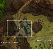 The nodes are in a secret underground garden.