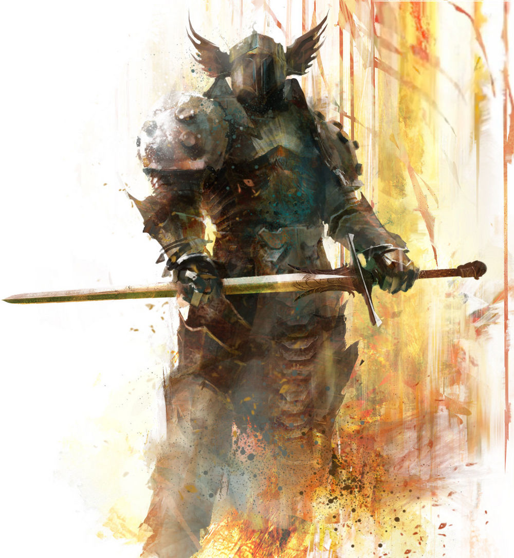 guild wars 2 how to make a good warrior