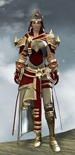White Mantle Outfit norn female front.jpg