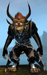Perfected Envoy armor (light) charr male front.jpg