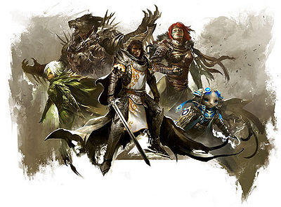 The five playable races