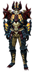 Flame Legion armor (heavy) human male front.jpg