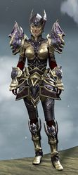 Ardent Glorious armor (heavy) norn female front.jpg