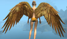 Golden Feather Wings Backpack.jpg